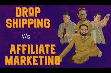 Drop-shipping vs Affiliate Marketing